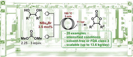 [2019] Versatile and scalable synthesis of cyclic organic carbonates [447x193]